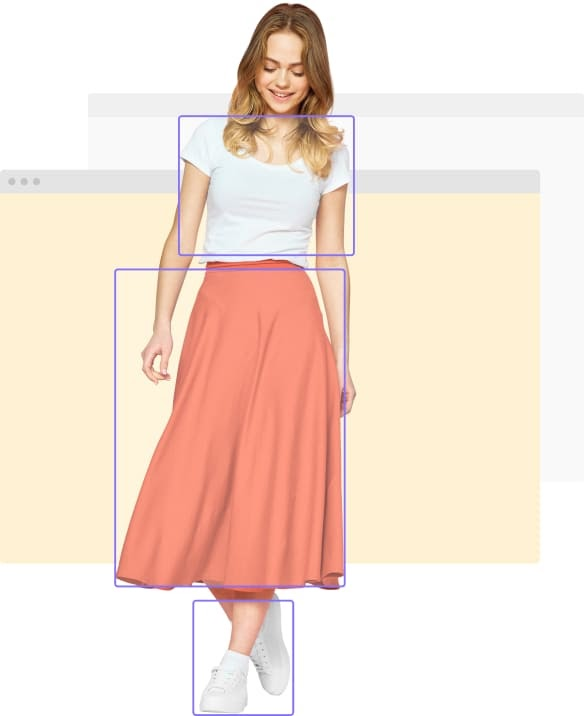 Online Shopping Visual Recommendations