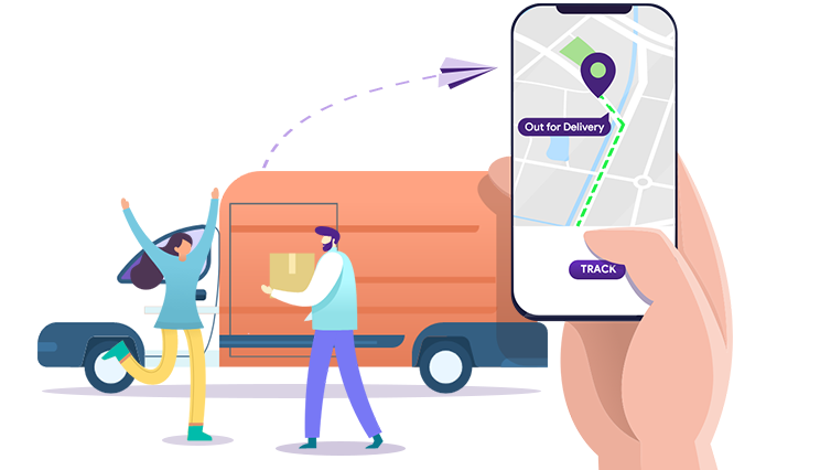 IoT for tracking orders in e-commerce