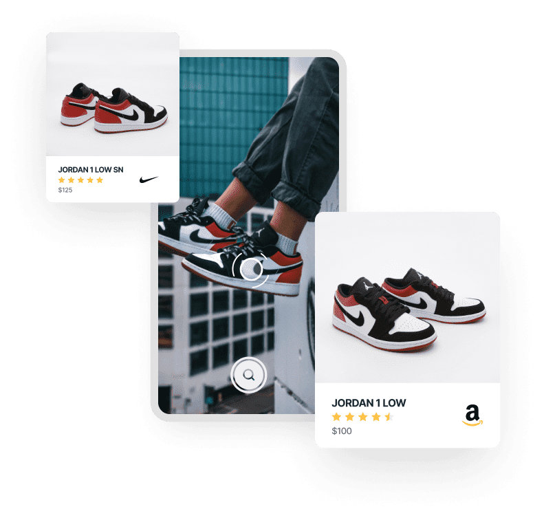 visual search API for e-commerce stores